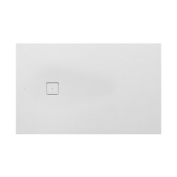 SHOWER TRAYS | XL superslim shower tray with side waste | Off White | Shower trays | Armani Roca