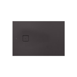 SHOWER TRAYS | XS superslim shower tray with side waste | Dark Metallic | Shower trays | Armani Roca