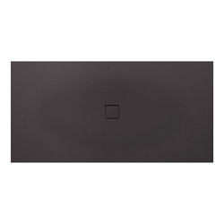 SHOWER TRAYS | XXL superslim shower tray with central waste | Dark Metallic | Shower trays | Armani Roca