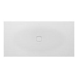 SHOWER TRAYS | XXL superslim shower tray with central waste | Off White | Shower trays | Armani Roca
