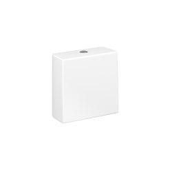 TOILETS | 3/45 L dual-flush cistern | Glossy White | WC | Armani Roca