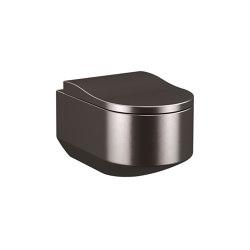 TOILETS | Wall-hung WC | Dark Metallic | WC | Armani Roca