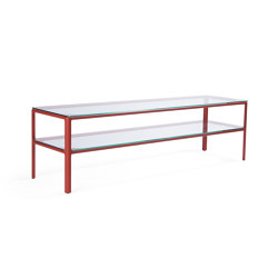 Crest table with double tops | Tavolini bassi | Materia