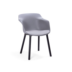 Pax chair with wooden legs | Stühle | Materia