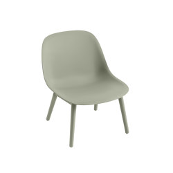 Fiber Lounge Chair | Wood Base | Armchairs | Muuto