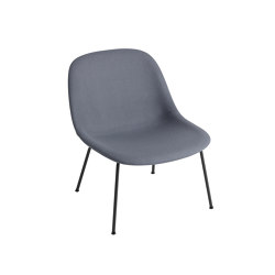 Fiber Lounge Chair | Tube Base | Textile | Sillones | Muuto
