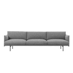 Outline Sofa | 3.5 Seater | Sofas | Muuto