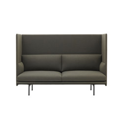 Outline Highback | 2-Seater | Sofás | Muuto