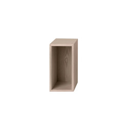 Stacked Storage System | Small With Backboard | Estantería | Muuto