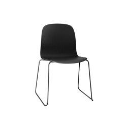 Visu Chair | Sled Base | Chairs | Muuto