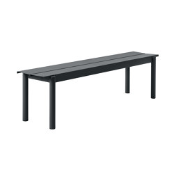 Linear Steel Bench | 170 x 34 cm / 66.9 x 15.4"
