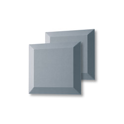 Acoustic tiles Sound Balance, 40 x 40 cm, dark grey, set of 2 | Sound absorbing objects | Sigel