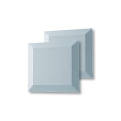 Acoustic tiles Sound Balance, 40 x 40 cm, light blue, set of 2 | Sound absorbing objects | Sigel