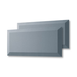 Acoustic tiles Sound Balance, 80 x 40 cm, dark grey, set of 2 | Sound absorbing objects | Sigel