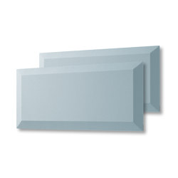 Acoustic tiles Sound Balance, 80 x 40 cm, light blue, set of 2 | Sound absorbing objects | Sigel
