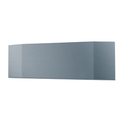 Acoustic board Sound Balance, 120 x 40 cm, dark grey | Sound absorbing wall systems | Sigel