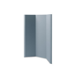 Acoustic curve Sound Balance, 100 x 140 cm, dark grey | Privacy screen | Sigel