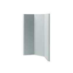 Acoustic curve Sound Balance, 100 x 140 cm, light grey | Privacy screen | Sigel
