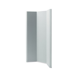 Acoustic curve Sound Balance, 100 x 180 cm, light grey | Sound absorbing freestanding systems | Sigel