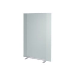 Acoustic wall Sound Balance, 100 x 150 cm, light grey   Privacy screen   Sigel