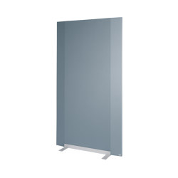 Acoustic wall Sound Balance, 100 x 180 cm, dark grey | Privacy screen | Sigel