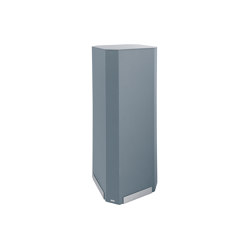 Acoustic tower Sound Balance, 45 x 110 cm, dark grey | Sound absorbing freestanding systems | Sigel