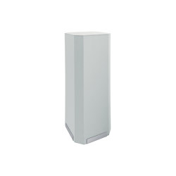 Acoustic tower Sound Balance, 45 x 110 cm, light grey | Privacy screen | Sigel
