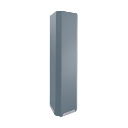 Acoustic tower Sound Balance, 45 x 180 cm, dark grey | Privacy screen | Sigel