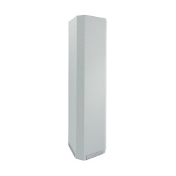 Acoustic tower Sound Balance, 45 x 180 cm, light grey | Privacy screen | Sigel