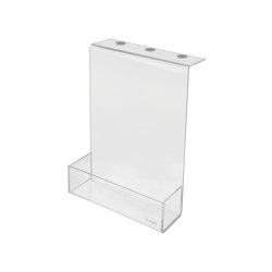 Storage box, made of transparent acrylic | Desk tidies | Sigel
