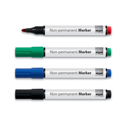 Non-permanent markers | Pens | Sigel
