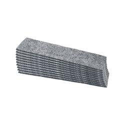 Felt strips for board eraser | Desk accessories | Sigel