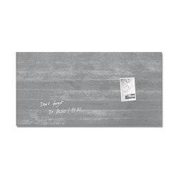 Magnetic Glass Board Artverum, 91 x 46 cm   Flip charts / Writing boards   Sigel
