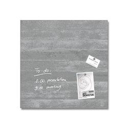Magnetic Glass Board Artverum, 48 x 48 cm   Flip charts / Writing boards   Sigel