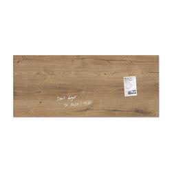 Magnetic Glass Board Artverum, 130 x 55 cm | Flip charts / Writing boards | Sigel