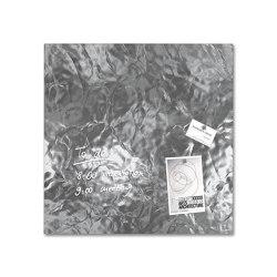 Tableau magnétique en verre Artverum, 48 x 48 cm | Chevalets de conférence / tableaux | Sigel