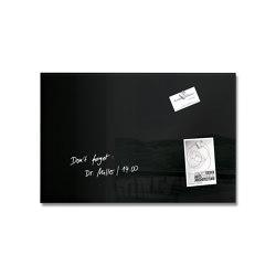 Magnetic Glass Board Artverum, 60 x40 cm | Flip charts / Writing boards | Sigel