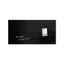 Magnetic Glass Board Artverum, 91 x 46 cm | Flip charts / Writing boards | Sigel