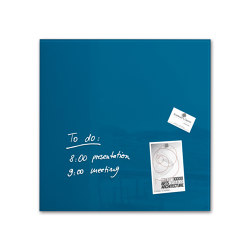 Magnetic Glass Board Artverum, 48 x 48 cm | Flip charts / Writing boards | Sigel