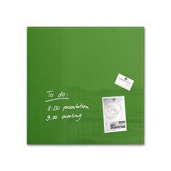 Magnetic Glass Board Artverum, 48 x 48 cm | Flip charts / Writing boards | Sigel