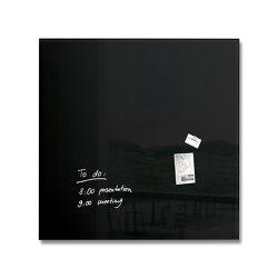 Magnetic Glass Board Artverum, 100 x 100 cm | Flip charts / Writing boards | Sigel