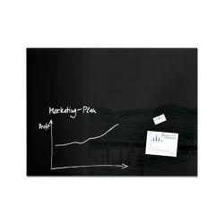 Tableau magnétique en verre Artverum, 120 x 90 cm | Chevalets de conférence / tableaux | Sigel