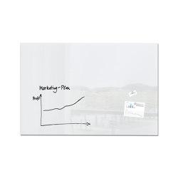 Pizarra de cristal magnética Artverum, 150 x 100 cm | Pizarras / Pizarras de caballete | Sigel