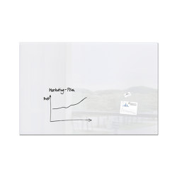 Magnetic Glass Board Artverum, 180 x 120 | Flip charts / Writing boards | Sigel