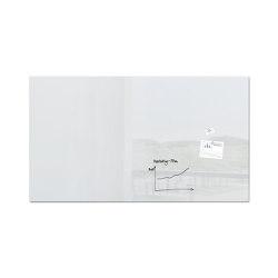 Tableau magnétique en verre Artverum, 240 x 120 cm | Chevalets de conférence / tableaux | Sigel