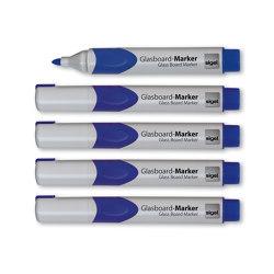 Glass Board Markers, 2-3 mm round nib | Pens | Sigel