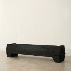 Xavier Solid Pine Bench | Sitzbänke | Pfeifer Studio