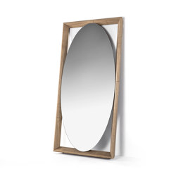 Odino Ovale Specchio   Mirrors   Porada