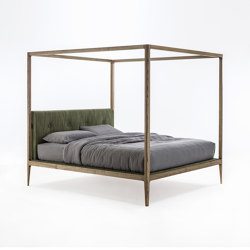 Ziggy Bed 180 Baldacchino | Beds | Porada