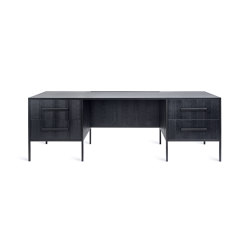 Black Is Black | Escritorio Black Out Desk | Escritorios | CRISTINA JORGE DE CARVALHO COLLECTIONS